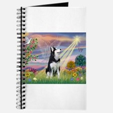 Cloud Angel / Siberian Husky Journal