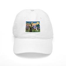 St Francis & Husky Baseball Cap