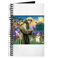 St Francis / Welsh Corgi (p) Journal