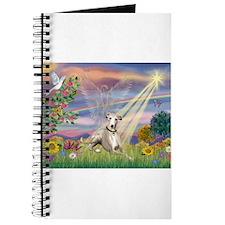 Cloud Angel & Whippet Journal