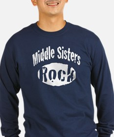 Middle Sisters Rock T