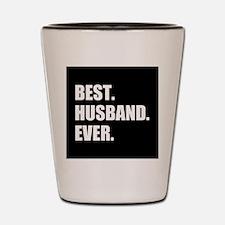 Black Best Husband Ever Shot Glass