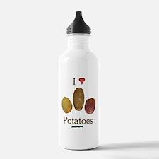 I Heart Potatoes Water Bottle