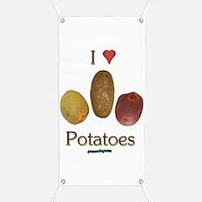 I Heart Potatoes Banner