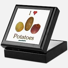 I Heart Potatoes Keepsake Box