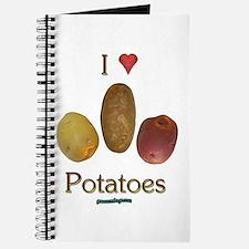I Heart Potatoes Journal