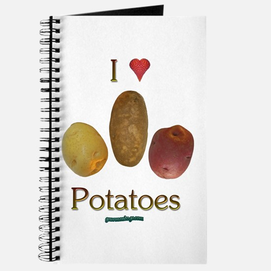I Heart Potatoes Journal