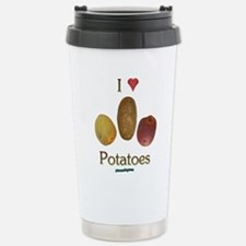 I Heart Potatoes Stainless Steel Travel Mug