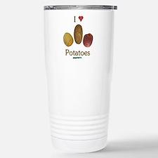 I Heart Potatoes Travel Mug