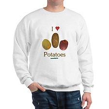 I Heart Potatoes Sweatshirt