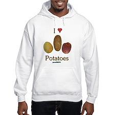 I Heart Potatoes Hoodie