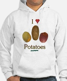 I Heart Potatoes Jumper Hoody