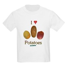 I Heart Potatoes T-Shirt