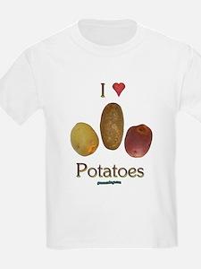 I Heart Potatoes T-Shirt