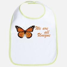 Butterfly: Side Inscription Bib