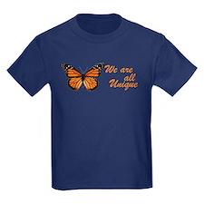 Butterfly: Side Inscription T