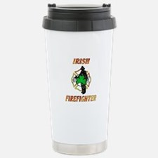 Irish Firefighter Travel Mug