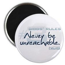 Gibbs' Rules #3 Magnet