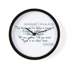 Gibbs' Rules #4 Wall Clock