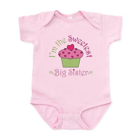 Sweetest Big Sister Infant Bodysuit