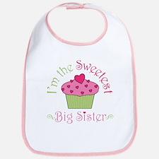 Sweetest Big Sister Bib