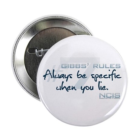 """Gibbs' Rules #7 2.25"""" Button (100 pack)"""