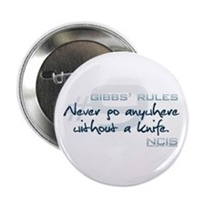 """Gibbs' Rules #9 2.25"""" Button (10 pack)"""