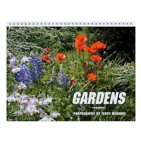 Garden Wall Calendar