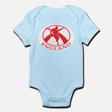 England Rugby Player Infant Bodysuit