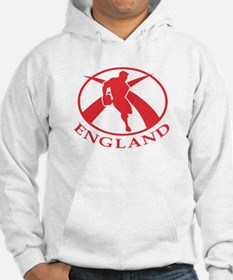 England Rugby Player Hoodie