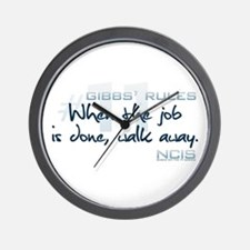 Gibbs' Rules #11 Wall Clock