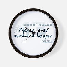 Gibbs' Rules #13 Wall Clock