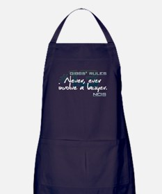 Gibbs' Rules #13 Apron (dark)