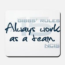 Gibbs' Rules #15 Mousepad