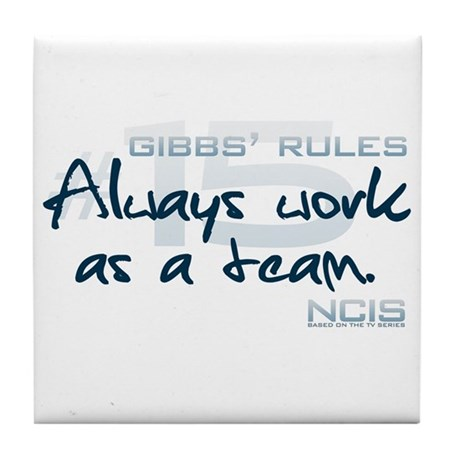Gibbs' Rules #15 Tile Coaster