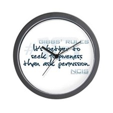 Gibbs' Rules #18 Wall Clock