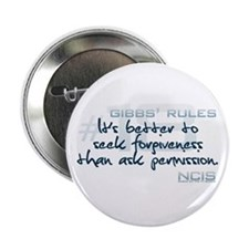 "Gibbs' Rules #18 2.25"" Button (10 pack)"