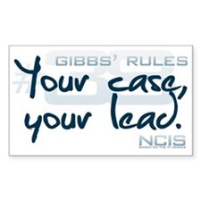 Gibbs' Rules #38 Decal