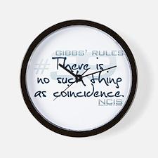 Gibbs' Rules #39 Wall Clock