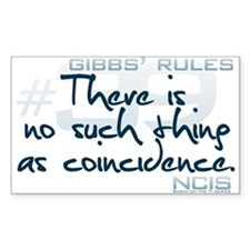 Gibbs' Rules #39 Decal