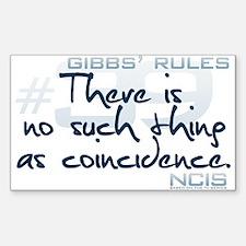 Gibbs' Rules #39 Sticker (Rectangle)
