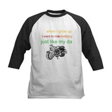 ride a motorcycle just like m Tee