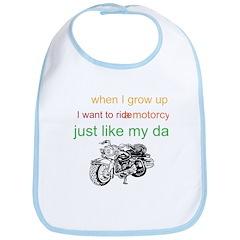 ride a motorcycle just like m Bib