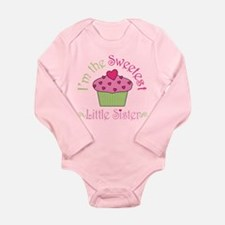 Sweet Little Sister Long Sleeve Infant Bodysuit