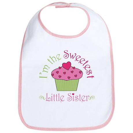 Sweet Little Sister Bib by 1512blvdbaby