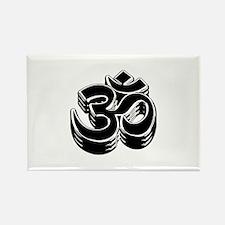 Buddhism OM Symbol Rectangle Magnet (100 pack)