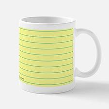 Things to do Mug