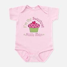 Sweet Middle Sister Infant Bodysuit