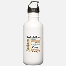 Dostoevsky Characters Water Bottle