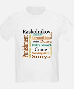 Dostoevsky Characters T-Shirt